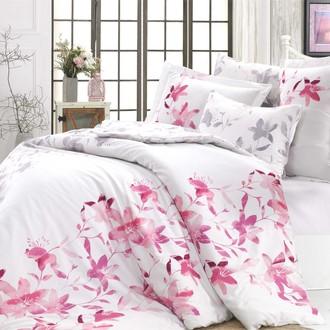 Комплект постельного белья Hobby Home Collection LUCIA хлопковый сатин (фуксия)