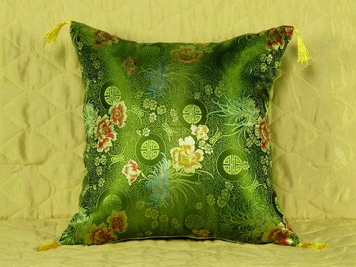 Декоративная наволочка Tango 7008-11 искусственный шёлк, фото, фотография