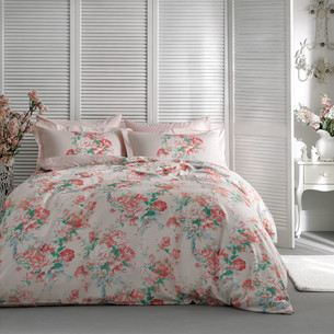 Постельное белье Tivolyo Home EMMA хлопковый сатин делюкс 1,5 спальный