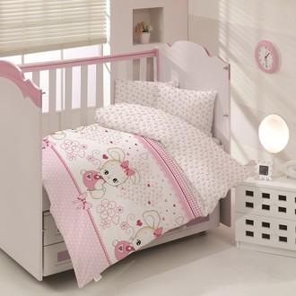 Комплект постельного белья для новорожденных Altinbasak TAFSANCIK хлопковый ранфорс