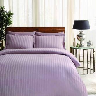 Комплект постельного белья TAC LUX NOBLE хлопковый жаккард (лиловый)