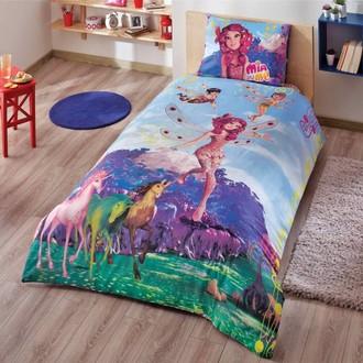 Комплект детского постельного белья TAC MIA AND ME FAIRY хлопковый ранфорс