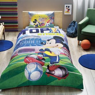 Комплект детского постельного белья TAC MICKEY GOAL хлопковый ранфорс