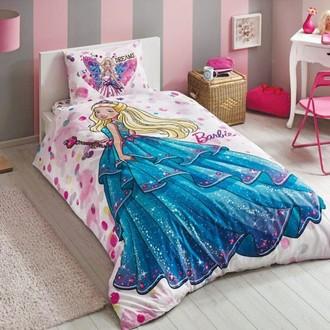 Комплект детского постельного белья TAC BARBIE DREAM хлопковый ранфорс