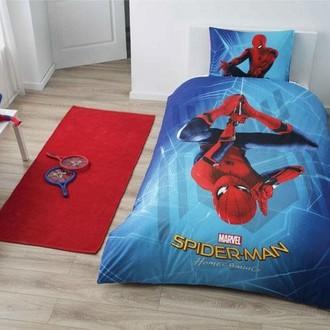 Детское постельное белье TAC SPIDERMAN HOMECOMING PVC хлопковый ранфорс