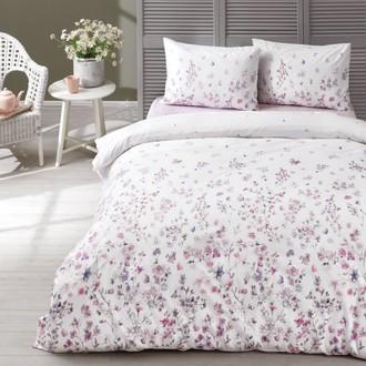 Комплект постельного белья TAC HAPPY DAYS ELENA хлопковый ранфорс (лиловый)