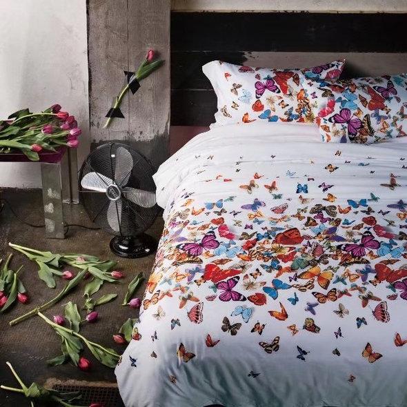 Комплект постельного белья Tango TIS-126 хлопковый мако-сатин евро, фото, фотография