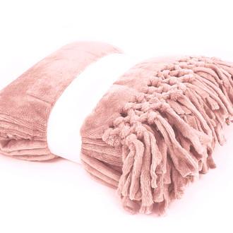 Плед Tivolyo Home NAPPA SOFT микрофибра (персиковый)