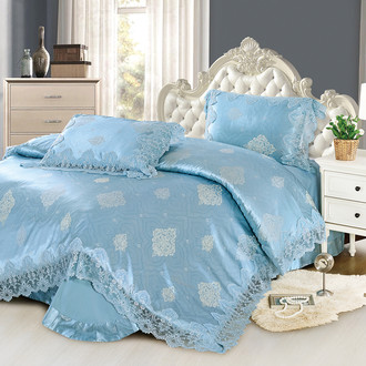 Комплект постельного белья Cristelle BLUE MARINE 34 сатин-жаккард