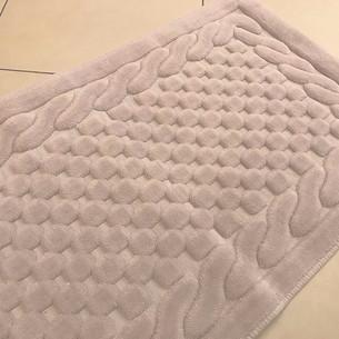 Набор ковриков 2 пр. Gelin Home ERGUVAN хлопковая махра кофейный 50х60, 60х100