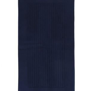 Коврик Soft Cotton LOFT хлопковая махра тёмно-синий 50х90