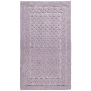 Набор ковриков 2 пр. Gelin Home ERGUVAN хлопковая махра лиловый 50х60, 60х100