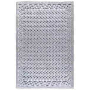 Набор ковриков 2 пр. Gelin Home ERGUVAN хлопковая махра серый 50х60, 60х100
