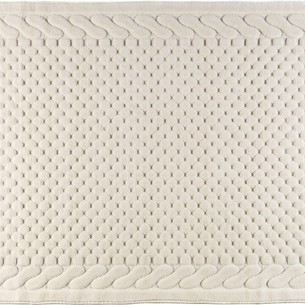 Набор ковриков 2 пр. Gelin Home ERGUVAN хлопковая махра кремовый 50х60, 60х100