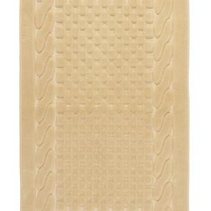 Набор ковриков 2 пр. Gelin Home ERGUVAN хлопковая махра бежевый 50х60, 60х100