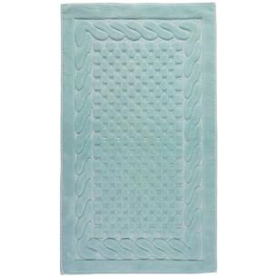 Набор ковриков 2 пр. Gelin Home ERGUVAN хлопковая махра бирюзовый 50х60, 60х100
