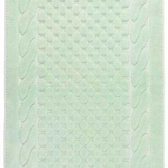 Набор ковриков 2 пр. Gelin Home ERGUVAN хлопковая махра (зелёный)
