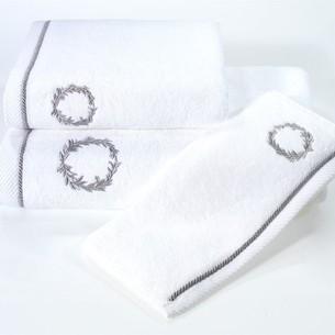 Полотенце для ванной Soft Cotton SEHZADE хлопковая махра белый 50х100