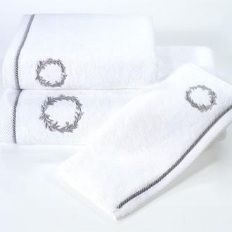 Полотенце для ванной Soft Cotton SEHZADE хлопковая махра (белый)