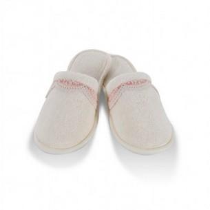 Тапочки женские Soft Cotton BUKET кремовый 36-38