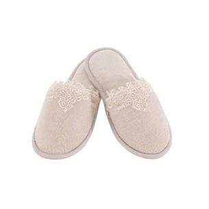 Тапочки женские Soft Cotton DESTAN пудра 36-38