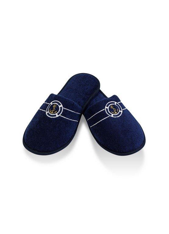 Тапочки мужские Soft Cotton MARINE (тёмно-синий) 40-42, фото, фотография
