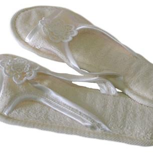 Тапочки женские Soft Cotton NIL кремовый 38-40