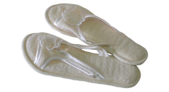 Тапочки женские Soft Cotton NIL (кремовый) 36-38, фото, фотография