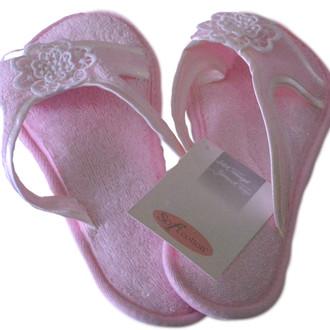 Тапочки женские Soft Cotton NIL (розовый)