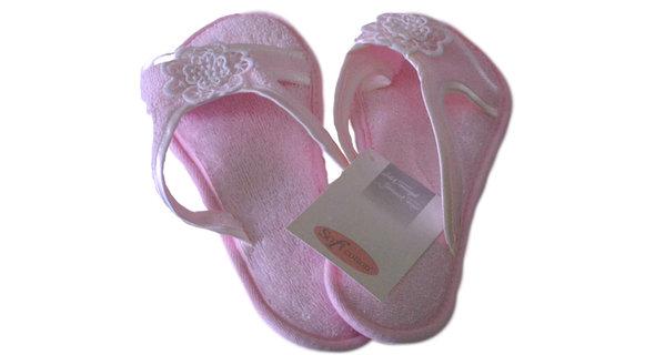 Тапочки женские Soft Cotton NIL (розовый) 38-40, фото, фотография