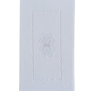 Коврик Soft Cotton MELODY хлопковая махра белый 50х90