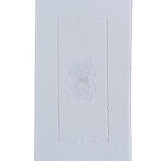 Коврик Soft Cotton MELODY хлопковая махра (белый)