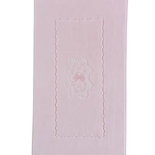 Коврик Soft Cotton MELODY хлопковая махра розовый 50х90