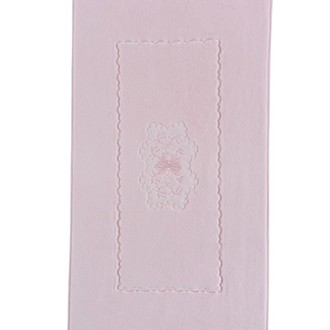 Коврик Soft Cotton MELODY хлопковая махра розовый