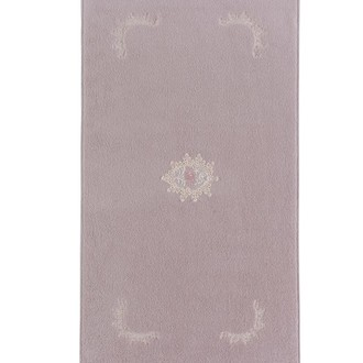Коврик Soft Cotton DESTAN хлопковая махра лиловый
