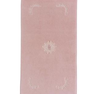 Коврик Soft Cotton DESTAN хлопковая махра тёмно-розовый 50х90