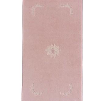 Коврик Soft Cotton DESTAN хлопковая махра тёмно-розовый