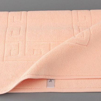 Коврик Soft Cotton GREK хлопковая махра персиковый