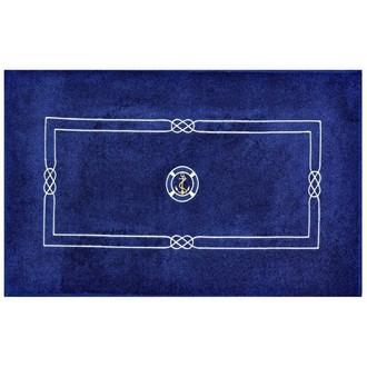 Коврик Soft Cotton MARINE хлопковая махра тёмно-синий