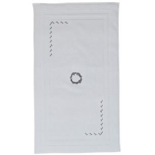 Коврик Soft Cotton SEHZADE хлопковая махра белый 50х90