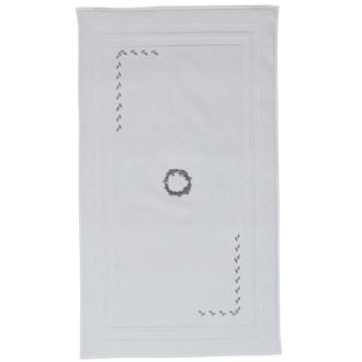 Коврик Soft Cotton SEHZADE хлопковая махра (белый)