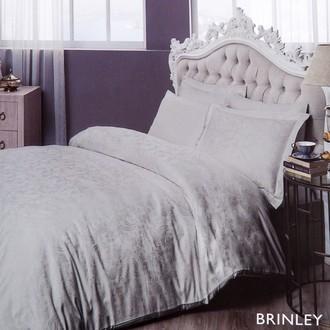 Комплект постельного белья TAC LUX BRINLEY хлопковый сатин-жаккард делюкс (серый)