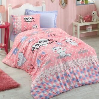 Комплект детского постельного белья Cotton Box GIRLS & BOYS JUNIOR ANIMALS хлопковый ранфорс