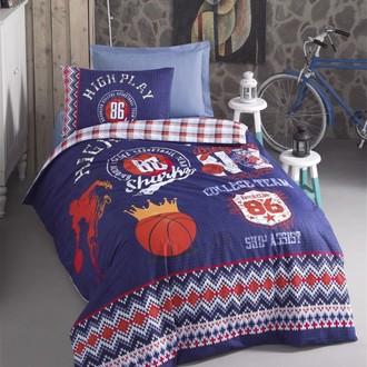Комплект детского постельного белья Cotton Box GIRLS & BOYS BASKETBALL хлопковый ранфорс (синий)