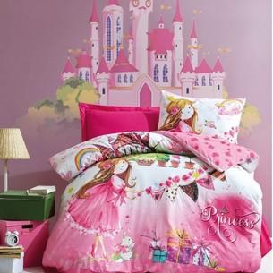 Детское постельное белье Cotton Box GIRLS & BOYS PRINCESS хлопковый ранфорс розовый 1,5 спальный