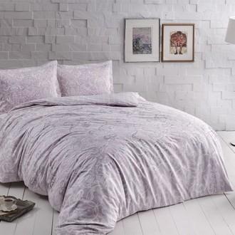 Комплект постельного белья TAC HAPPY DAYS CASTILLO хлопковый сатин (лиловый)