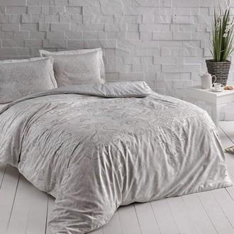 Комплект постельного белья TAC HAPPY DAYS CASTILLO хлопковый сатин (кремовый)