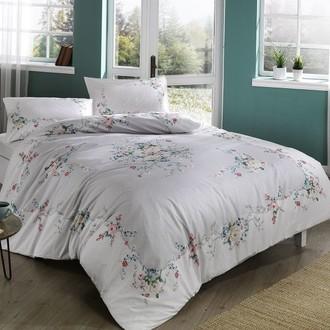 Комплект постельного белья TAC HAPPY DAYS MADELYN хлопковый ранфорс (серый)