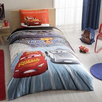 Комплект детского постельного белья TAC CARS 3 хлопковый ранфорс
