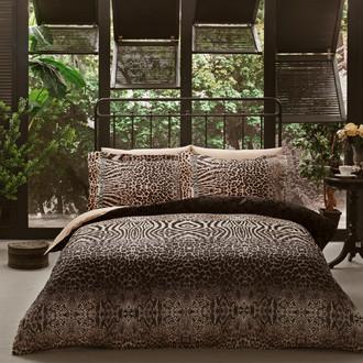 Комплект постельного белья Tivolyo Home WILD LIFE хлопковый люкс-сатин